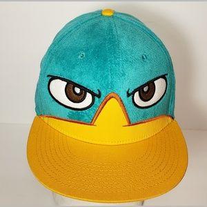 Fineas & Ferb Disney Snapback Hat Never Wor